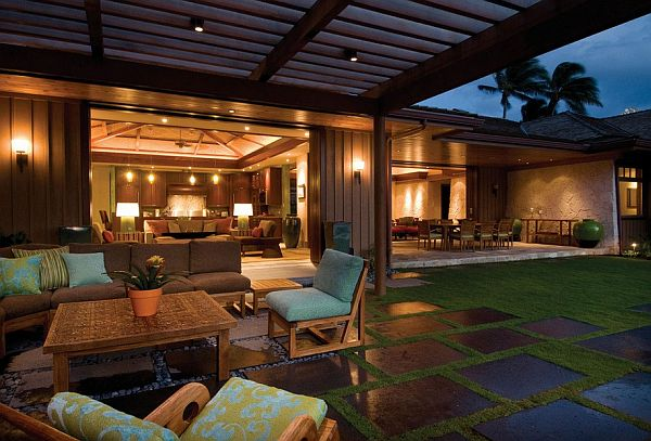 12 diy inspiring patio design ideas for Cool outdoor patio ideas