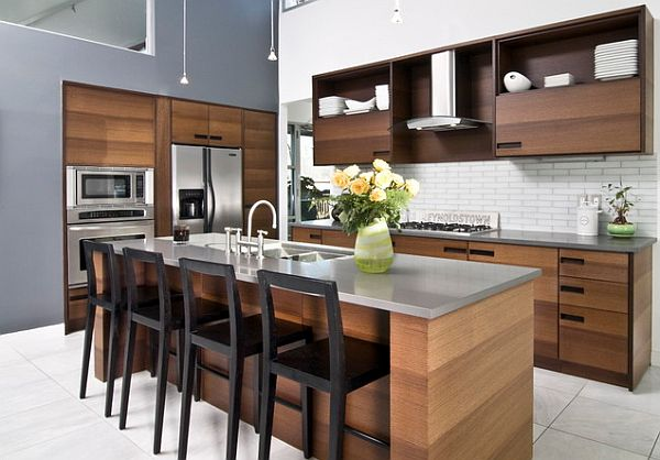 Eco-friendly kitchen cabinet design