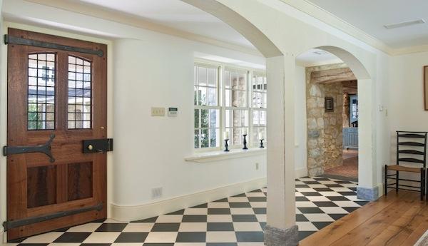 foyer letting in light