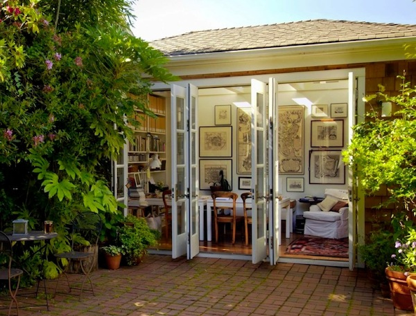 french doors outdoors