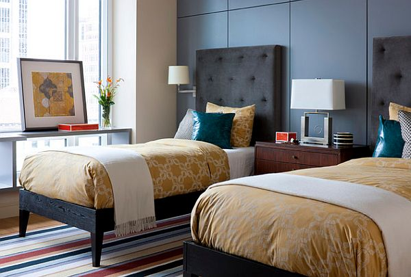 Guestroom design with a classic touch