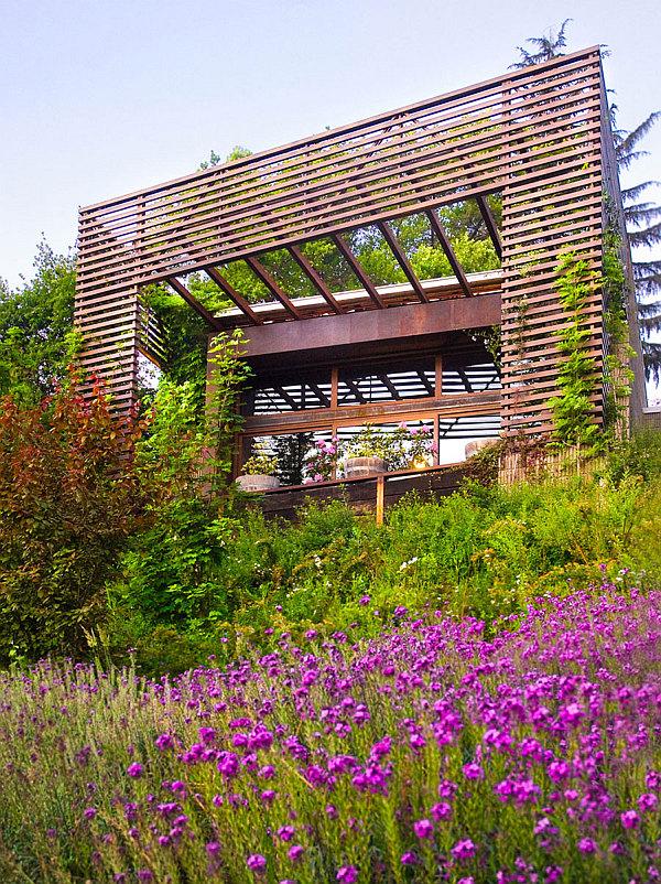 hillside villa design