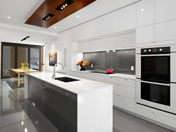 kitchen details sleek cabinetry