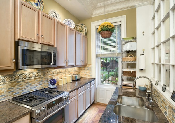 kitchen galley stone ideas