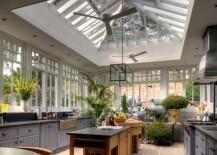 kitchen light conservatory
