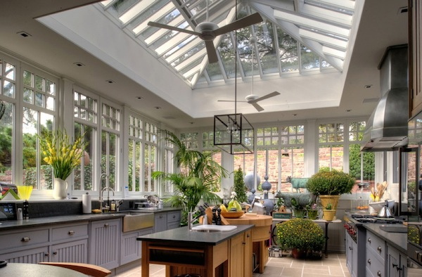 kitchen light conservatory How to Bring Natural Light into your Dark Kitchen