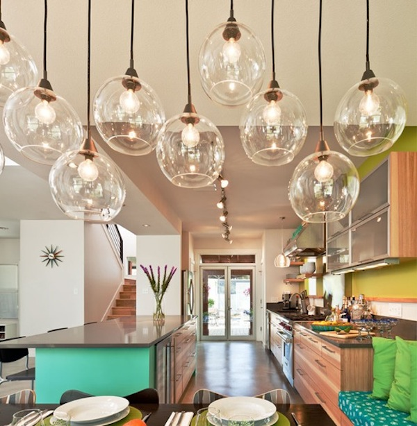 Kitchen pendant lighting decoist for Dining table lighting ideas