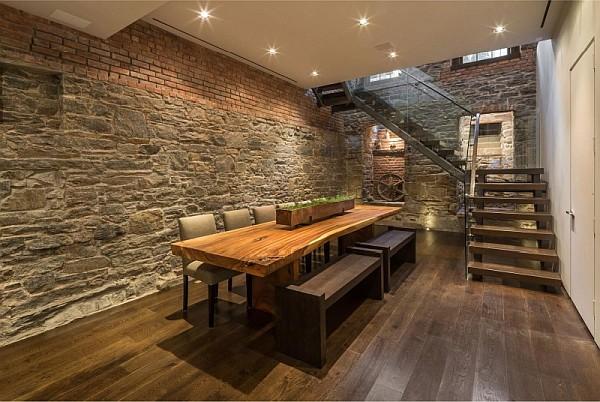 luxury NYC home - stunning dining area