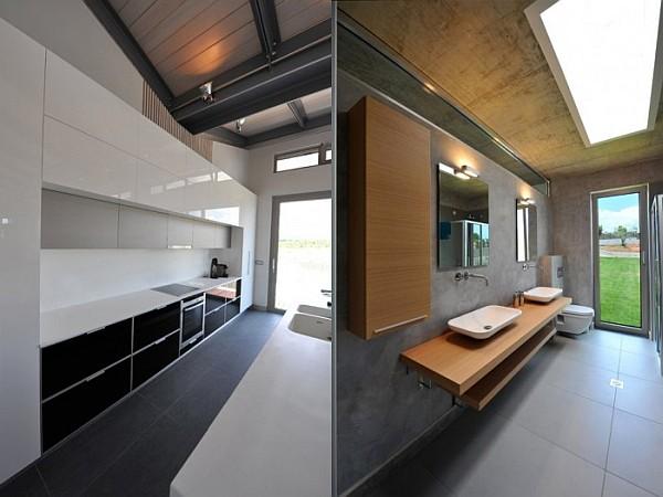 minimalist decor with eartly tones