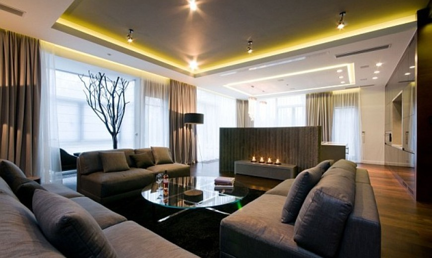 Sophisticated Apartment Design With Inimitable Charm in Warsaw