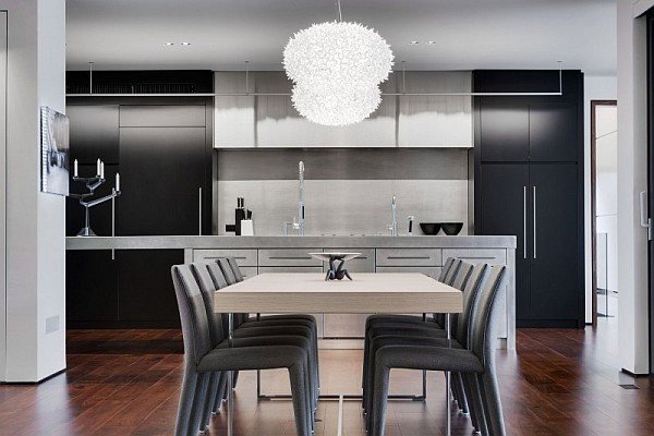 modern elegant kitchen table - montreal