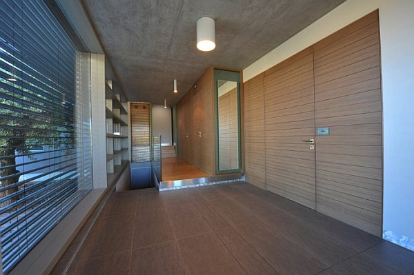 modern hallway