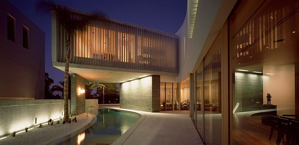 modern psychiko house in Greece 15 Posh Private Residence in Greece Integrates Sleek Symmetry with Contemporary Style