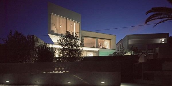 modern psychiko house in Greece 16 Posh Private Residence in Greece Integrates Sleek Symmetry with Contemporary Style