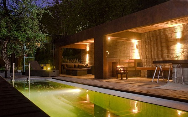 night view patio design
