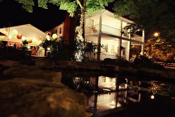 outdoor lighting for home wedding
