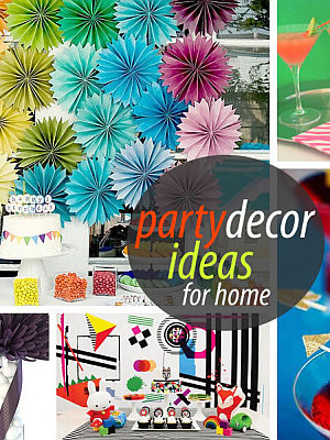 party home decor ideas