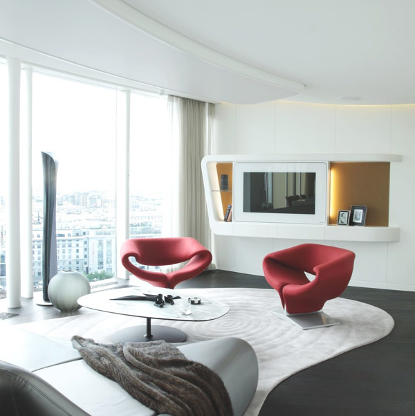 penthouse design russia Refined Russian Penthouse Amalgamates Extravagance and Elegance