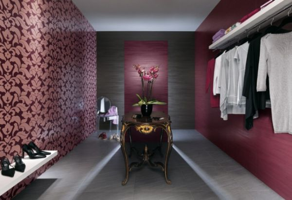 Simple and elegant, this closet holds its own appeal.