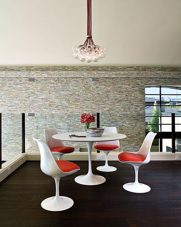 round kitchen table with leg
