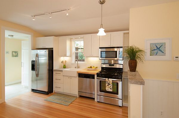 Transform your kitchen without breaking the bank here 39 s how for Cape cod kitchen design ideas