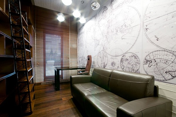 space-inspired home office design idea