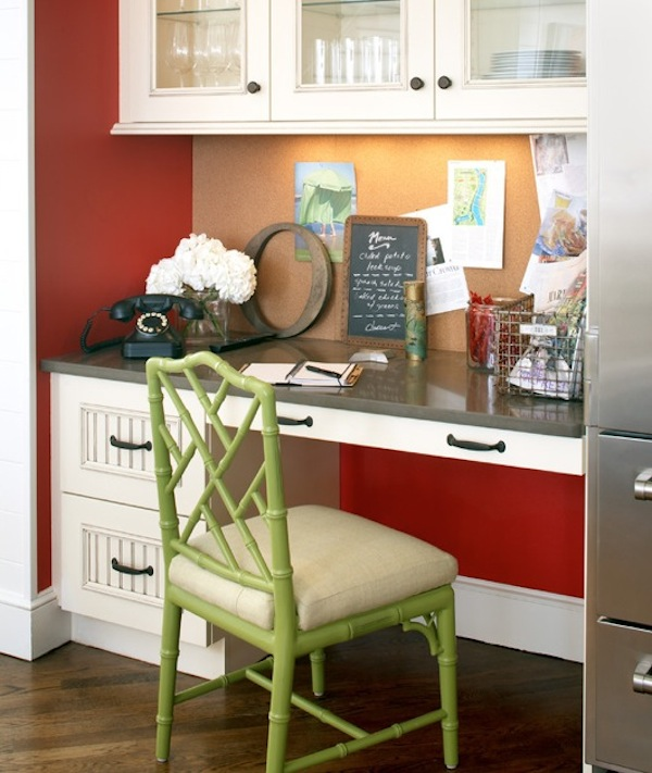 spring colored furniture home office