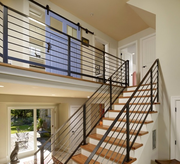 stair railing modern design
