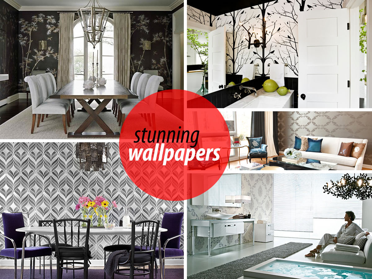 stunning wallpapers rooms 20 Eye Catching Wallpapered Rooms