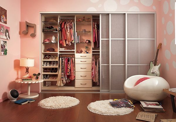 View In Gallery Teenage Girl Closet Organization