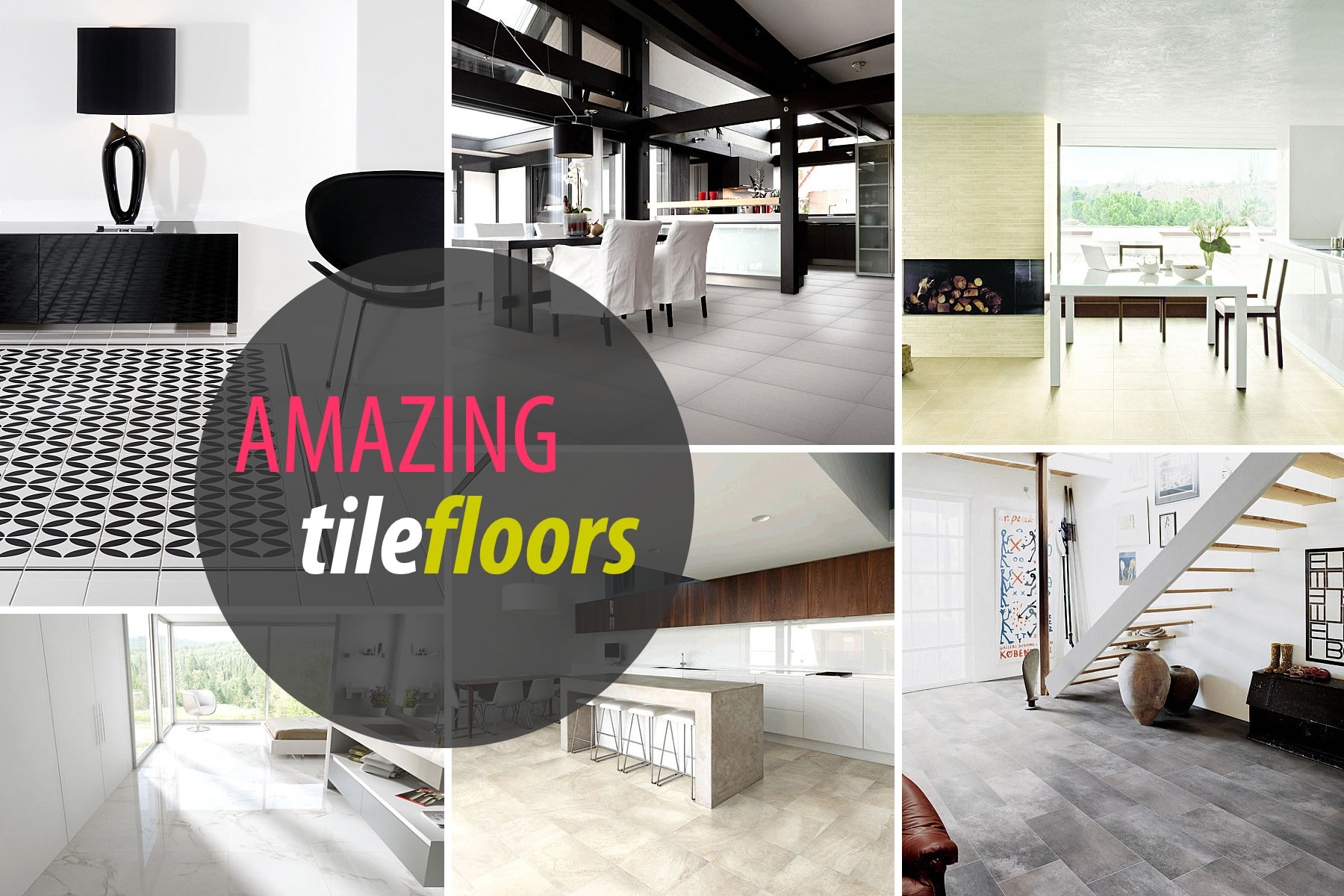 View In Gallery Tile Floors Designs