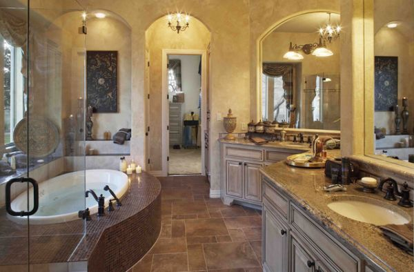 Incredible bathroom designs you 39 ll love for Traditional master bathroom ideas