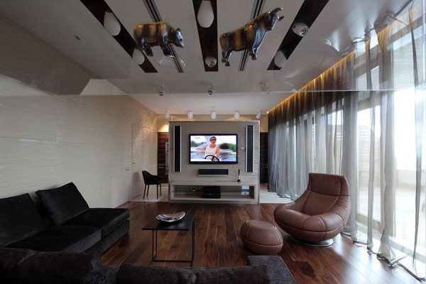 triplex penthouse design