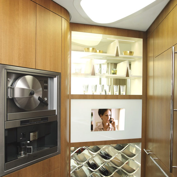 triplex penthouse kitchen