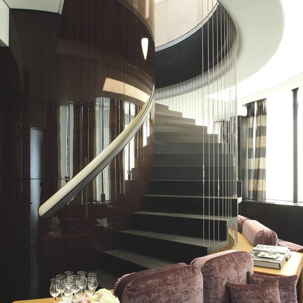 triplex penthouse staircase