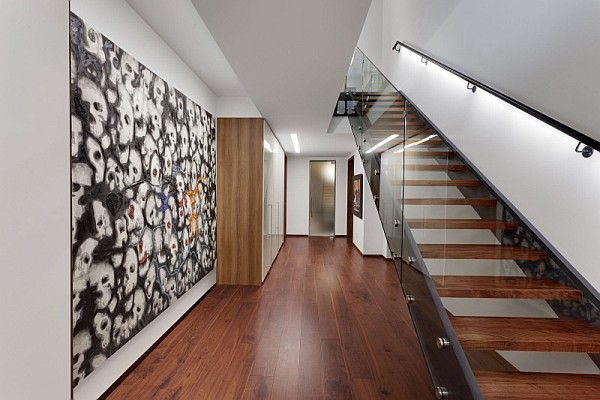 Ultra modern hallway design montreal Design ideas for hallways and stairs