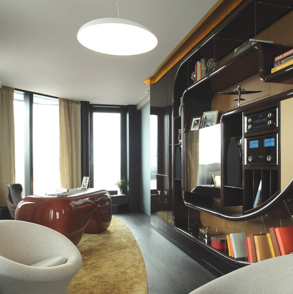 wall furniture - russian penthouse