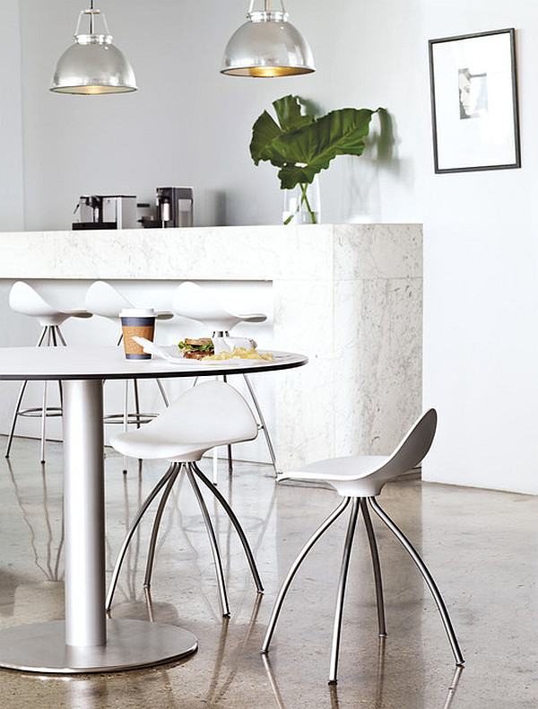 Onda table stool for a stylish kitchen
