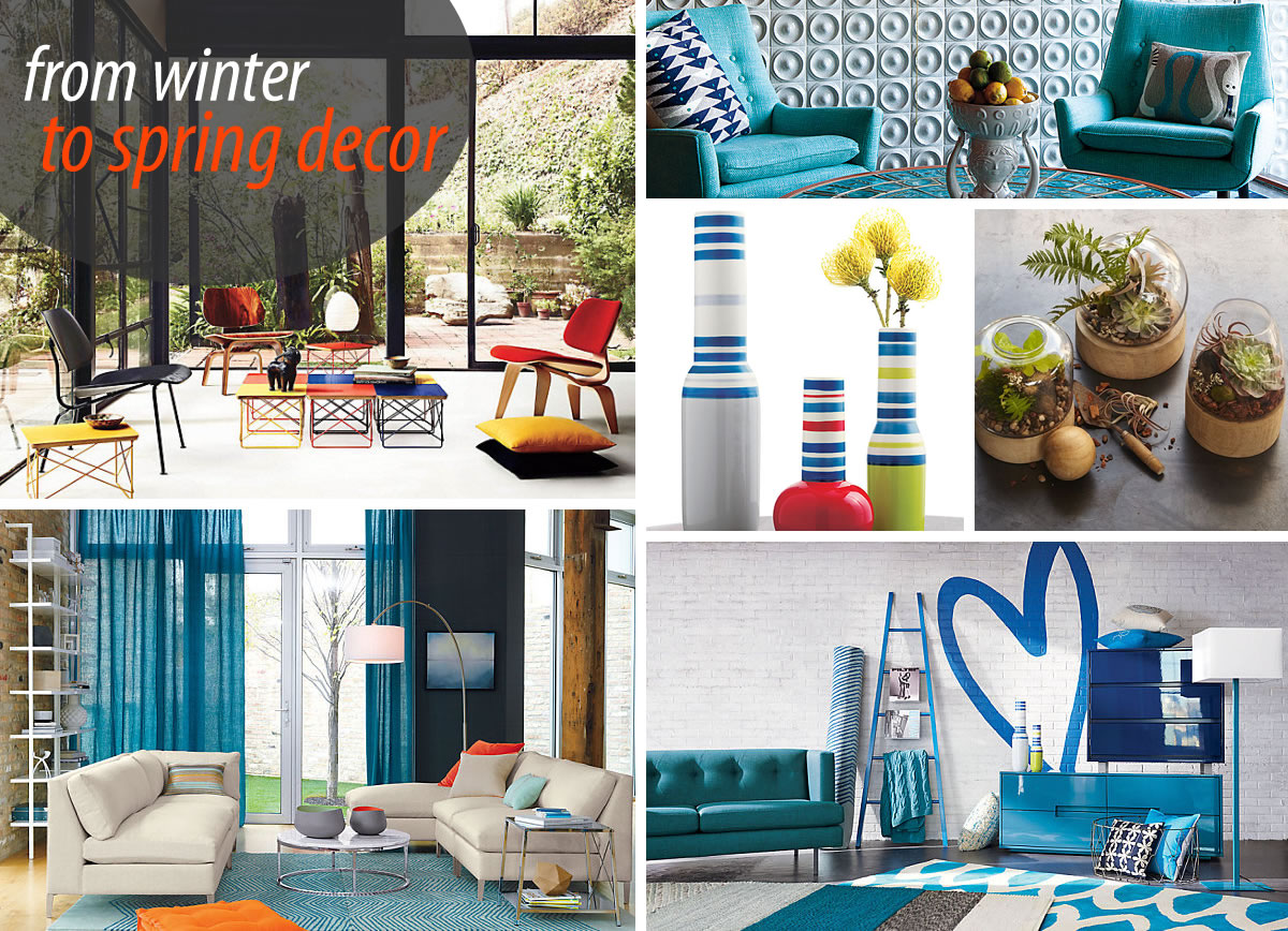 winter – spring transitional furniture