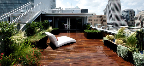 New gardening ideas for spring for Rooftop landscape design
