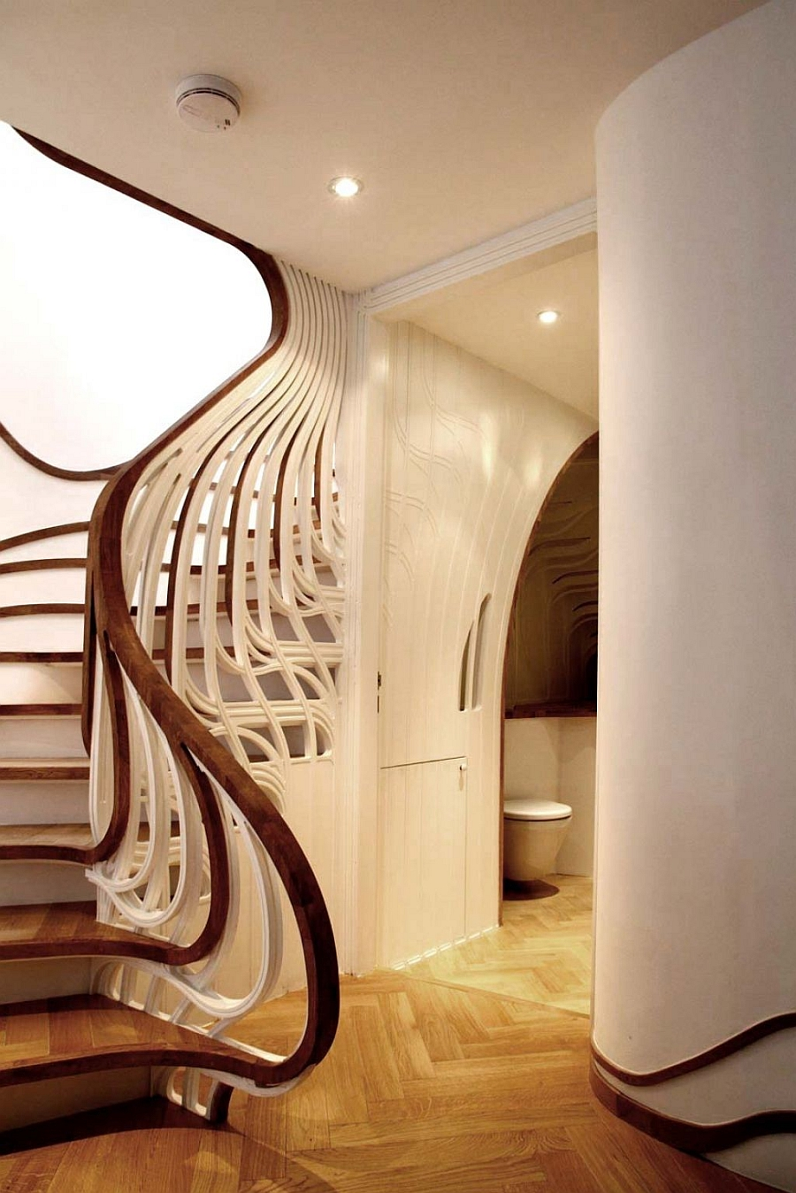 A railing that sets your staircase apart