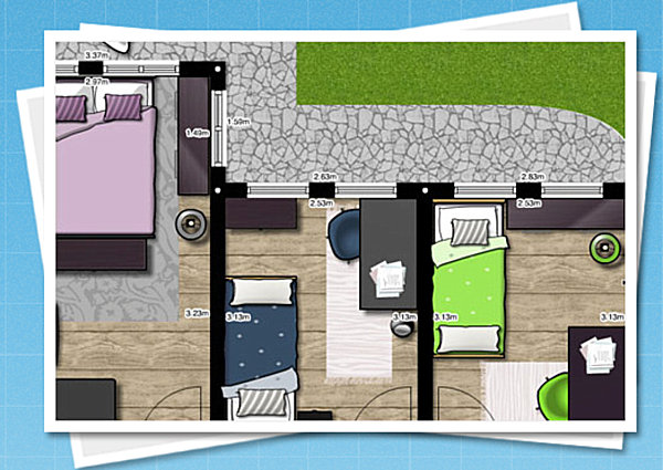 View In Gallery A Sampling Of Floorplanneru0027s Abilities. Today We Explore  Seven Room Planner Tools ... Nice Design