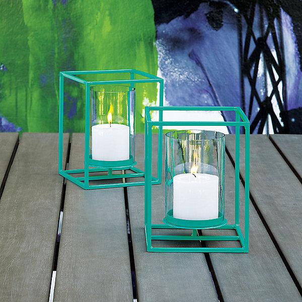 Aqua cube lantern