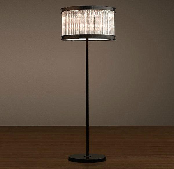 Art Deco-style lamp