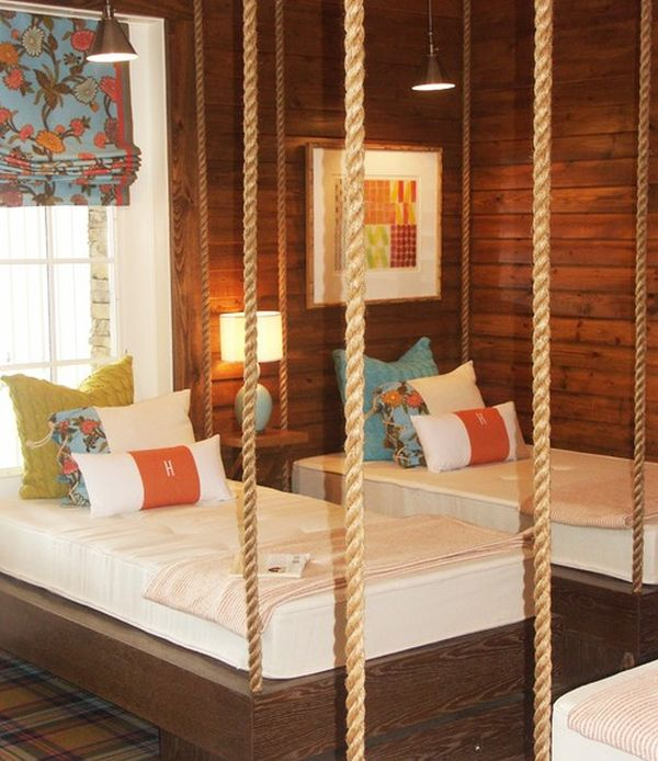 29 hanging bed design ideas to swing in the good times rh decoist com