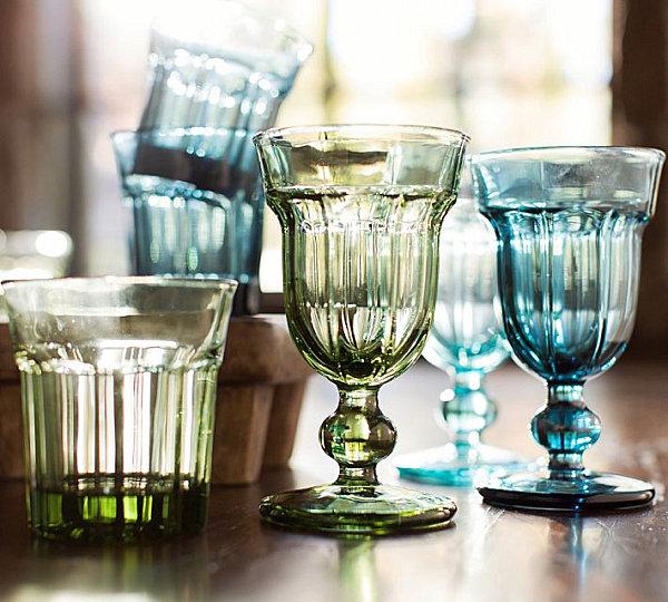 Cafe glassware