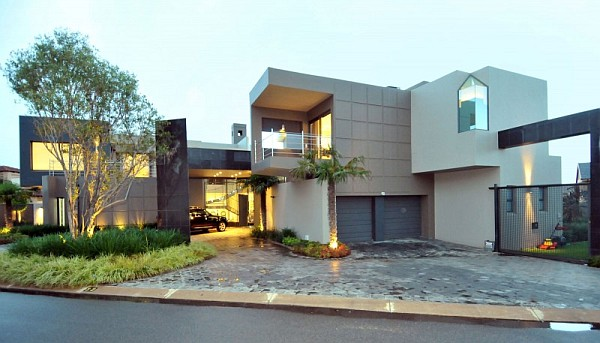 Cal Kempton Park 1 Dazzling Modern South African Home Charms With Elegant Warm Hues