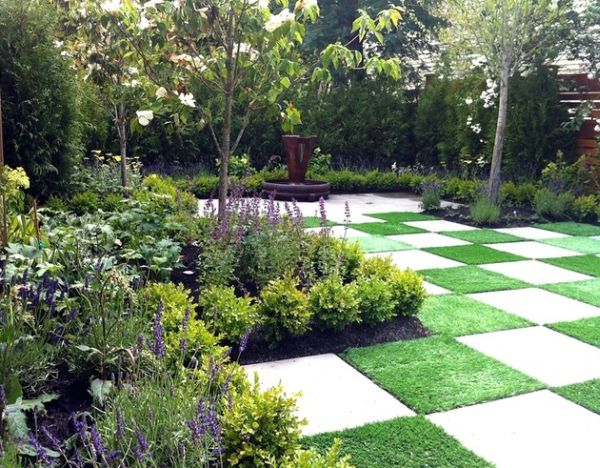 37 garden art design inspirations to decorate your for Garden paving designs