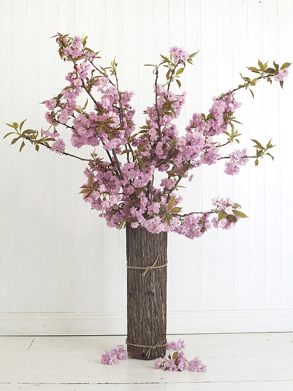 Cherry blossom floral arrangement