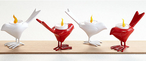Chick candleholders